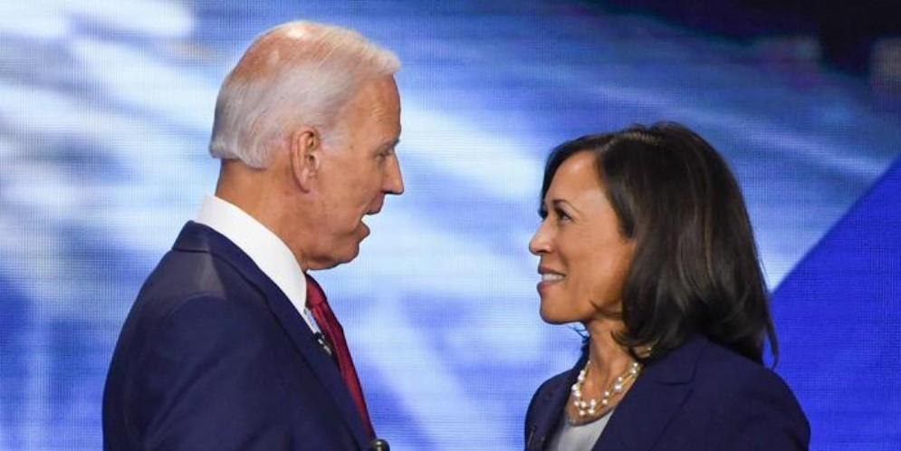 Primo incontro pubblico per Joe Biden e Kamala Harris