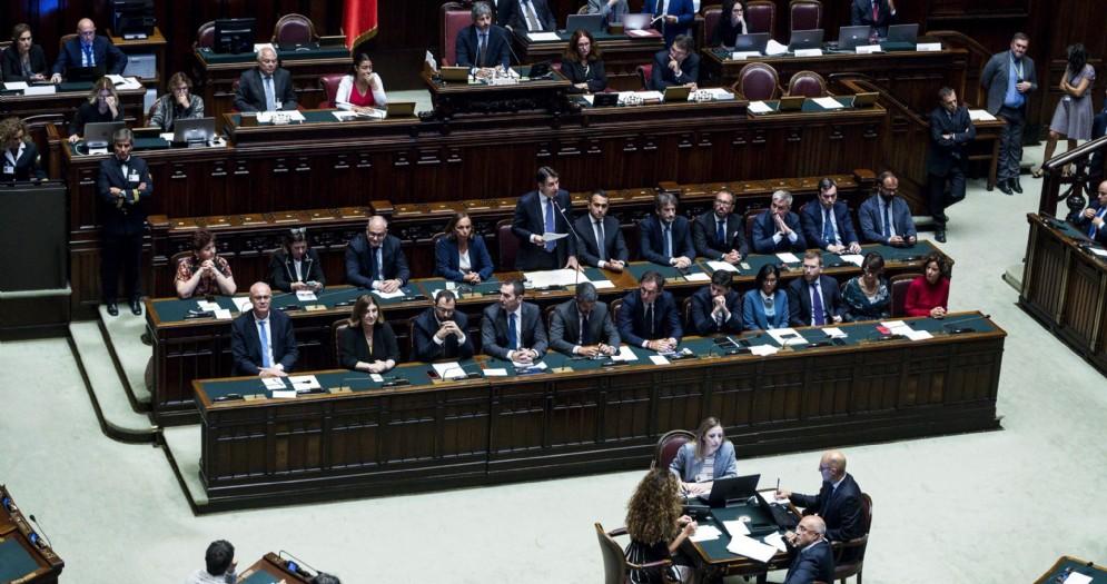 Il Governo Conte alla Camera dei Deputati
