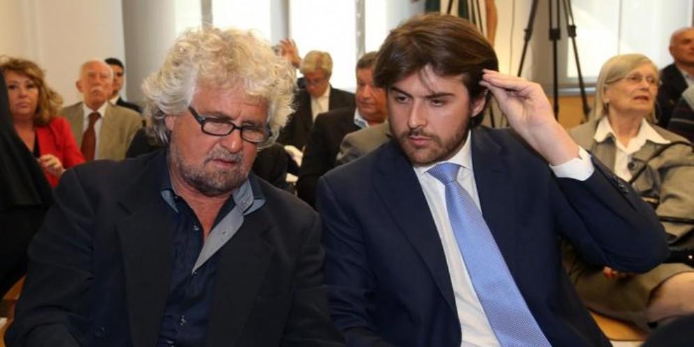 Beppe Grillo e Stefano Buffagni