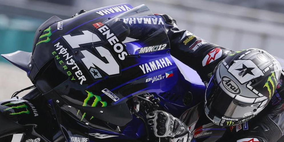 Maverick Vinales in pole in Austria