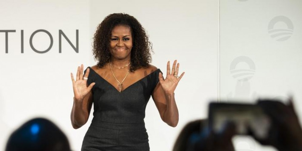 L'ex first lady, Michelle Obama