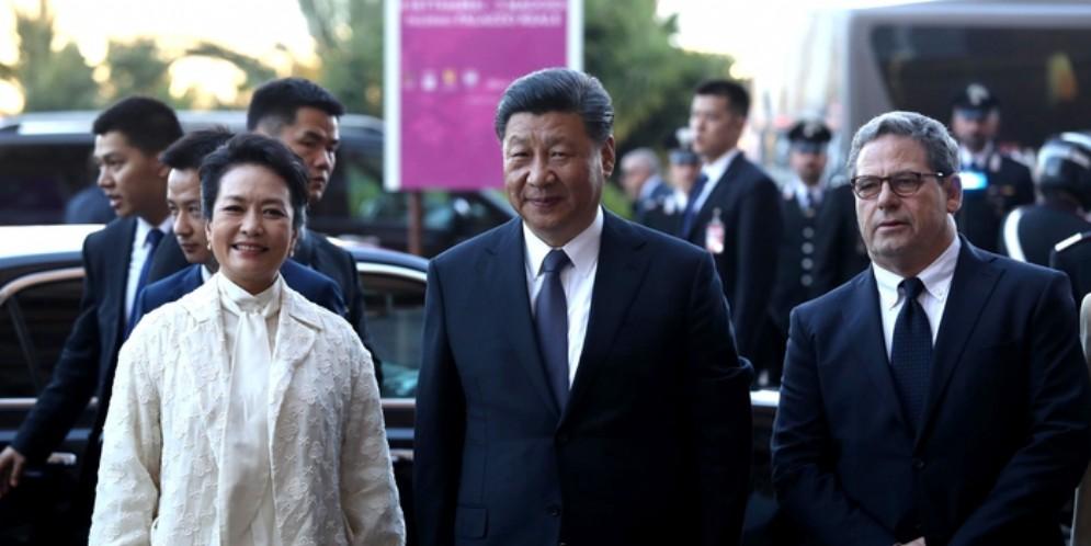 Il Presidente cinese, Xi Jinping