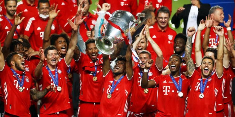 Bayern campione d'Europa per la sesta volta!