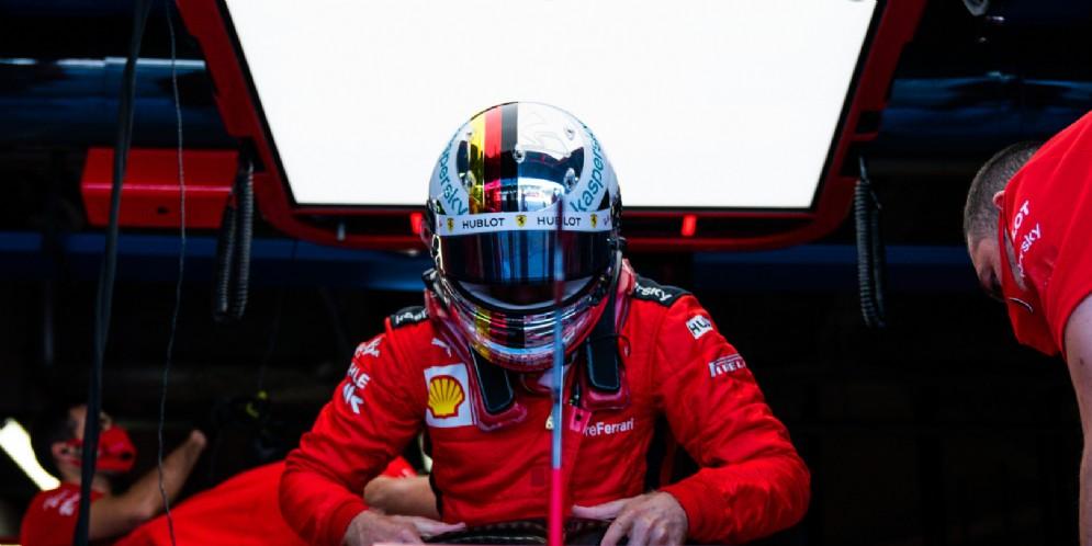 Sebastian Vettel a Monza 2020