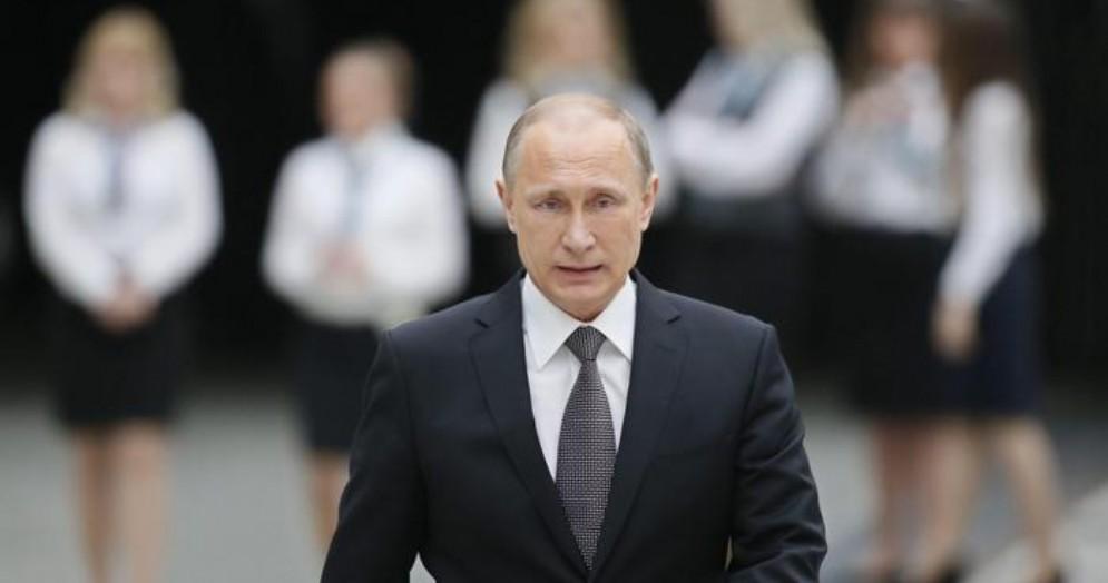Il Presidente russo, Vladimir Putin