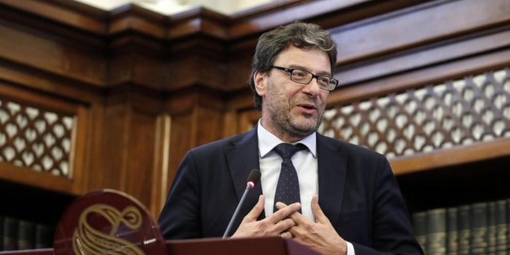 Il vicesegretario della Lega, Giancarlo Giorgetti