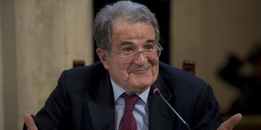 L'ex Presidente del Consiglio, Romano Prodi