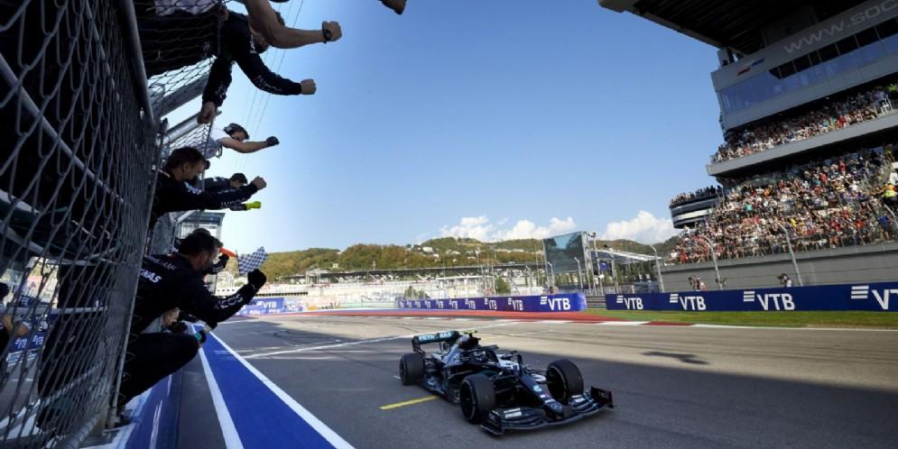 Valtteri Bottas ha vinto il Gran Premio di Formula 1 di Russia