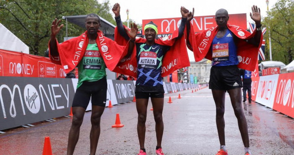 Maratona di Londra: vittoria a sorpresa dell'etiope Shura Kitata