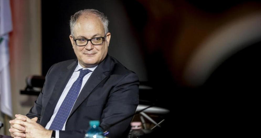 Il Ministro dell'Economia, Roberto Gualtieri
