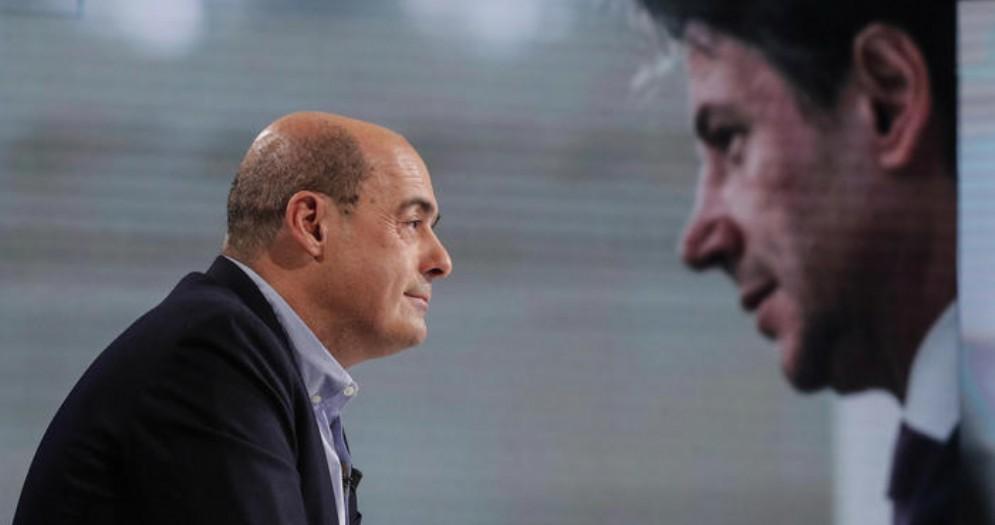 Nicola Zingaretti e Giuseppe Conte