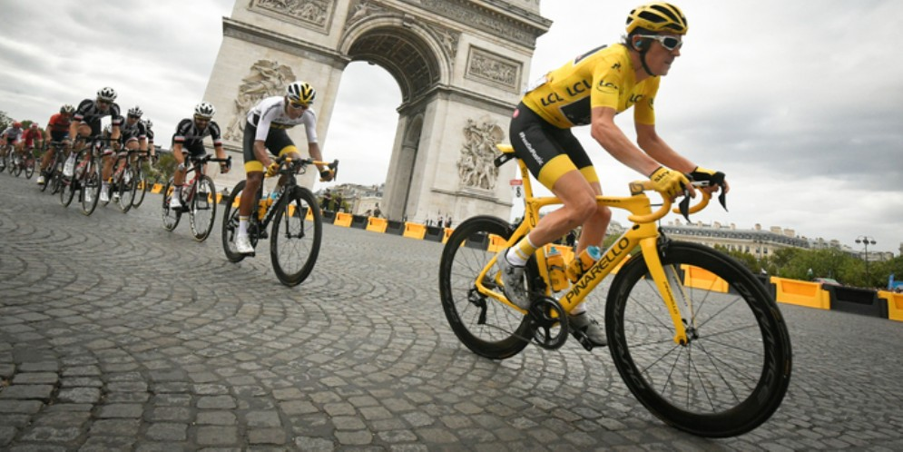 Una tappa del Tour de France 2019