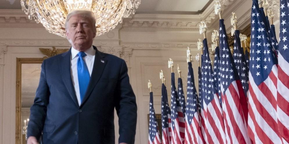 Il Presidente uscente degli Stati Uniti, Donald Trump