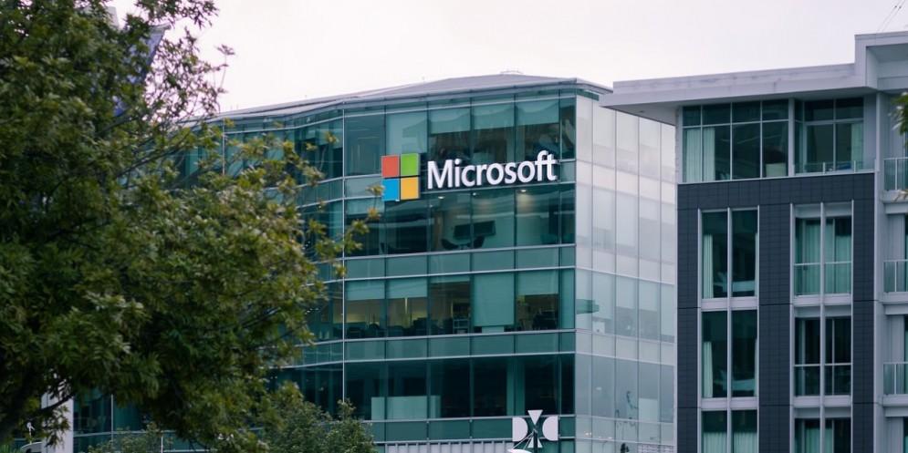 Una delle sedi di Microsoft