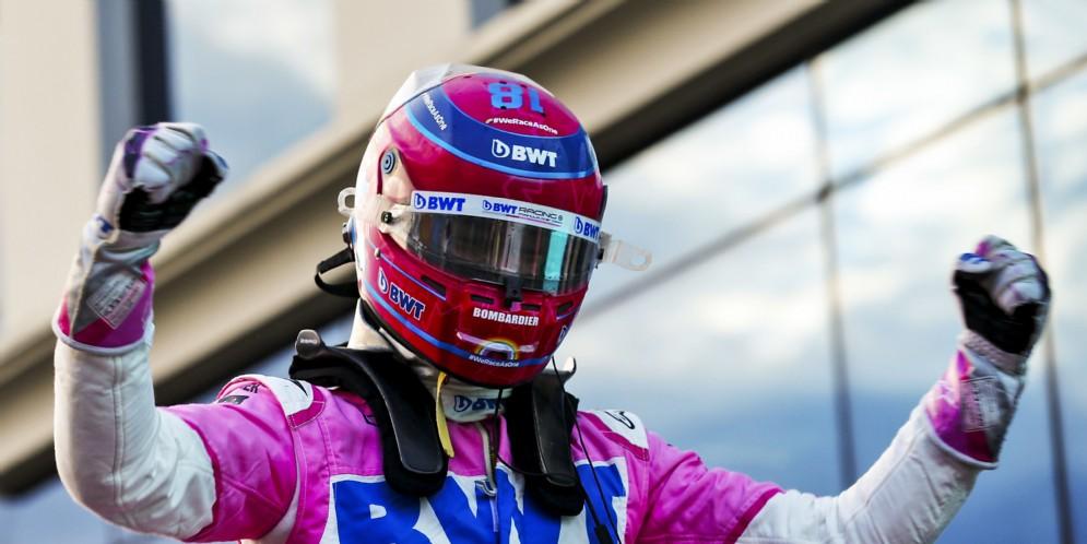 E' di Lance Stroll la pole position del Gp di Turchia. Naufragio Ferrari