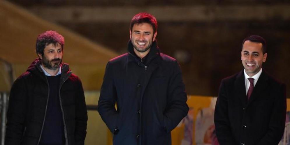 Roberto FICO, Alessandro DI BATTISTA e Luigi DI MAIO