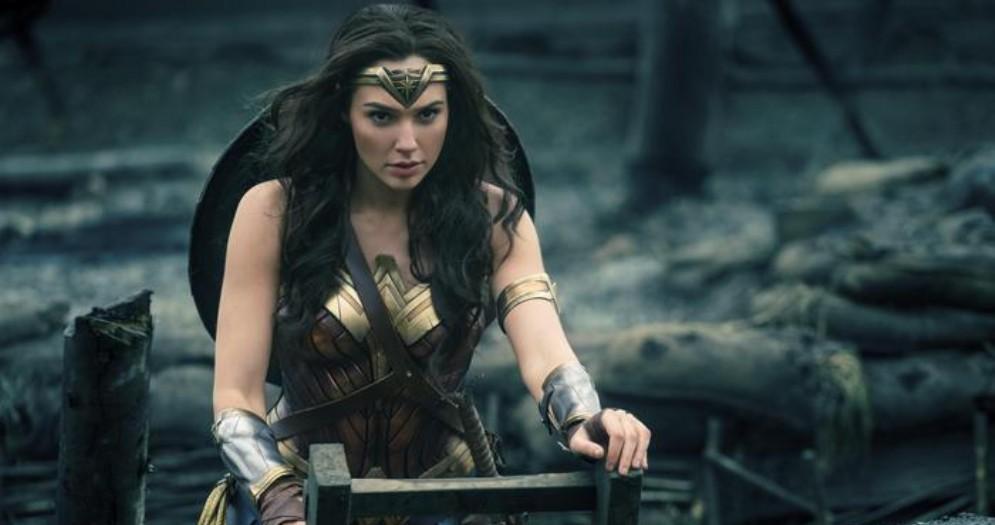 Una scena di «Wonder Woman»