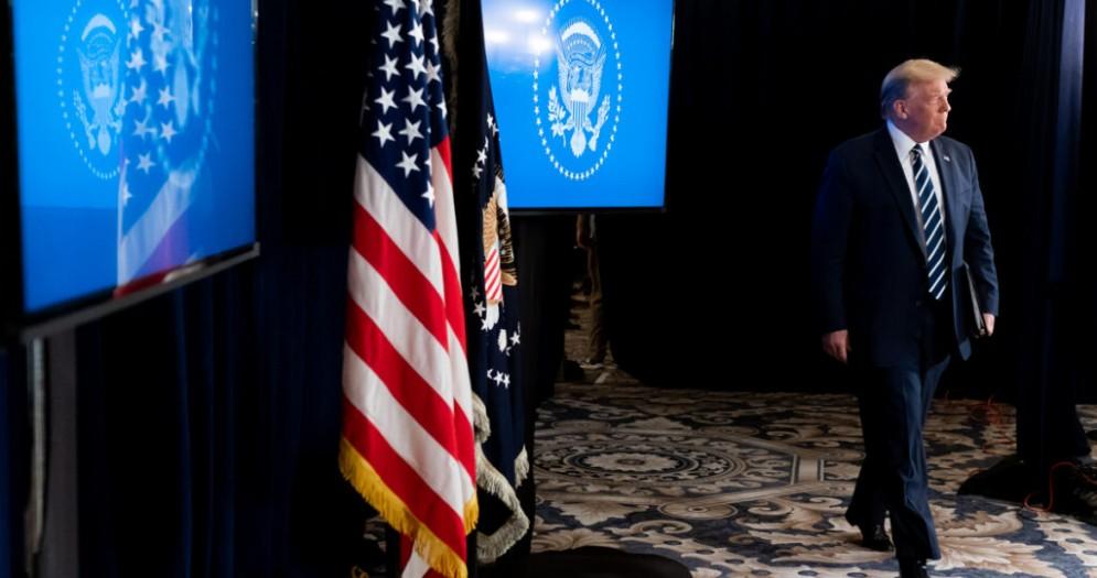 Il Presidente americano uscente, Donald TRUMP