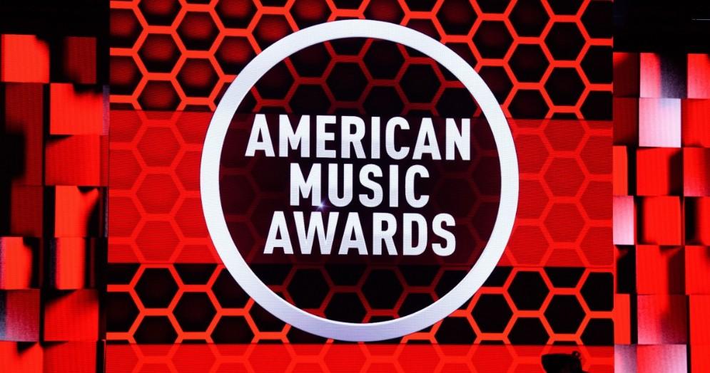 Palco degli American Music Awards 2020