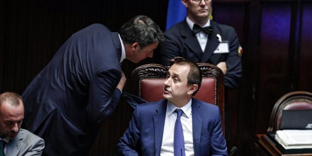 Matteo RENZI ed Ettore ROSATO, Segretario e Presidente di Italia Viva
