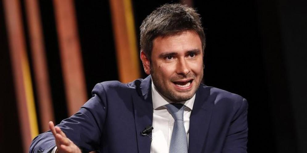 Alessandro Di Battista, esponente di punta del MoVimento 5 Stelle