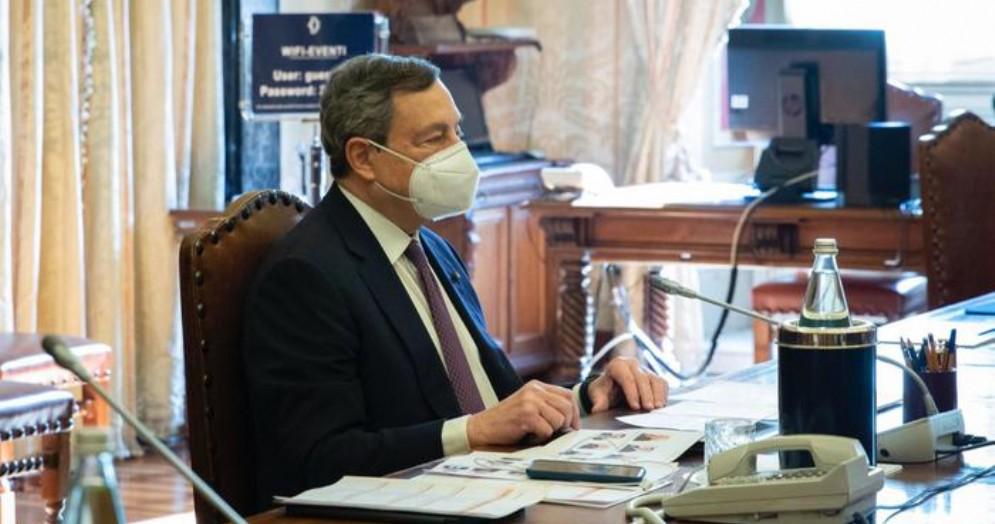 Il Presidente incaricato, Mario Draghi