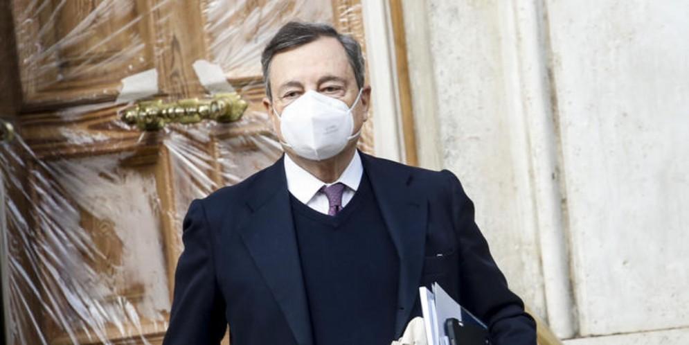 Mario Draghi, Presidente del Consiglio incaricato