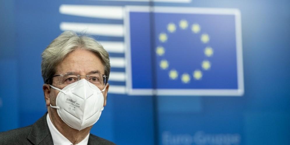 Il commissario europeo all'Economia, Paolo Gentiloni