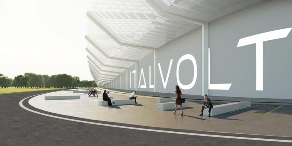 Italvolt Gigafactory rendering