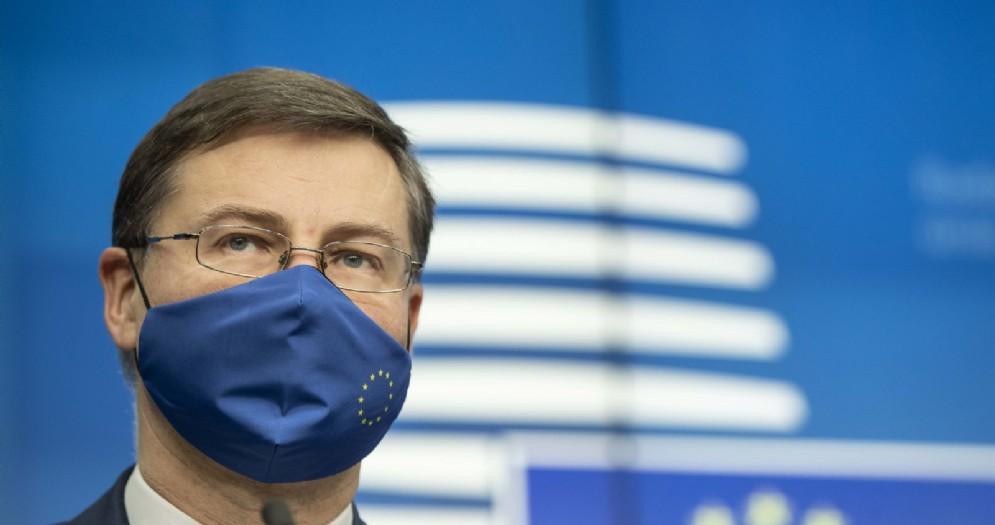 Il vicepresidente esecutivo della Commissione europea responsabile per le questioni economiche, Valdis Dombrovskis