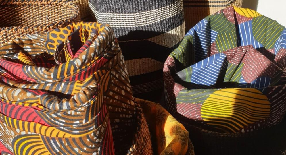 Tessuti wax e ceste fatte a mano made in Africa