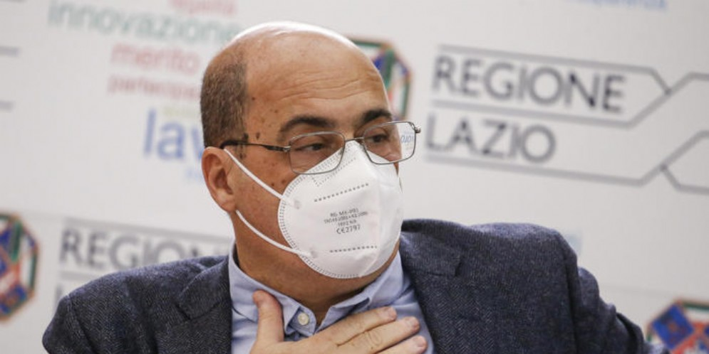Nicola Zingaretti, oramai ex Segretario del PD