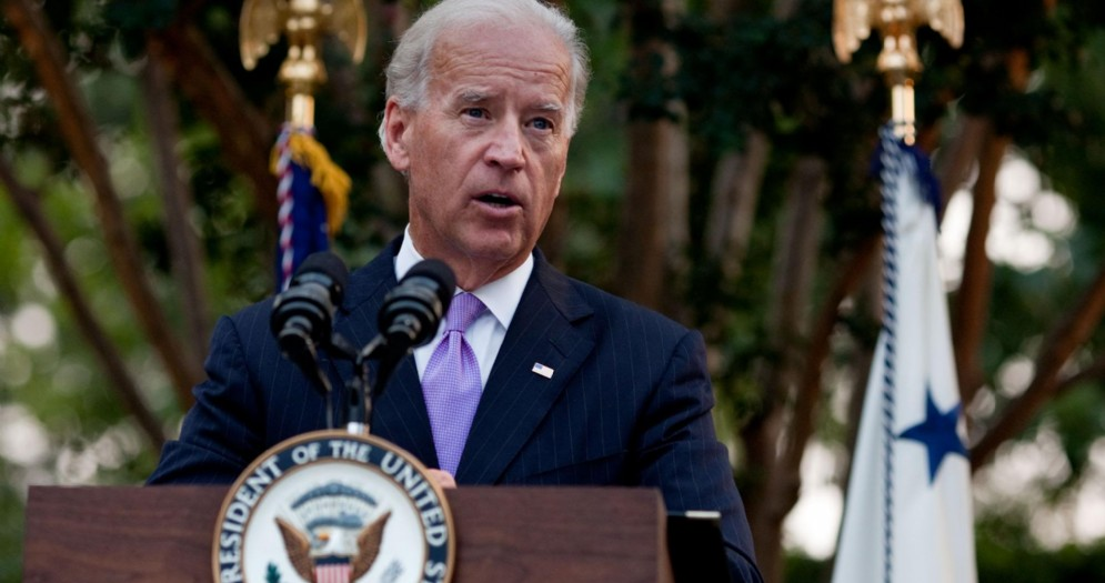 Il Presidente americano, Joe Biden