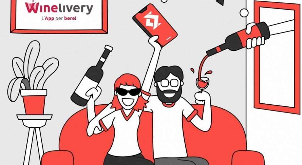 Da oggi sull'app Winelivery si paga con Satispay
