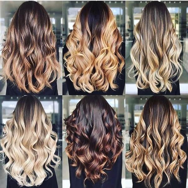 Differenti tonalità di capelli