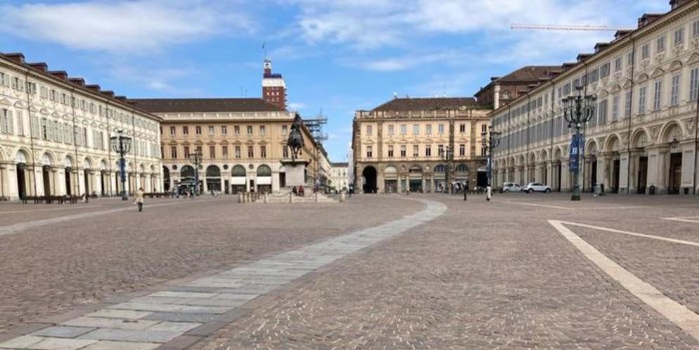 Torino deserta a Pasqua