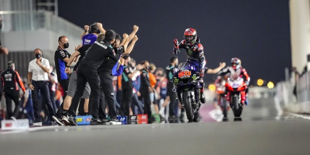 Gp Doha 2021: dopo Vinales ecco Quartararo, fenomeno Martin. Zarco leader del mondiale. Delude Rossi
