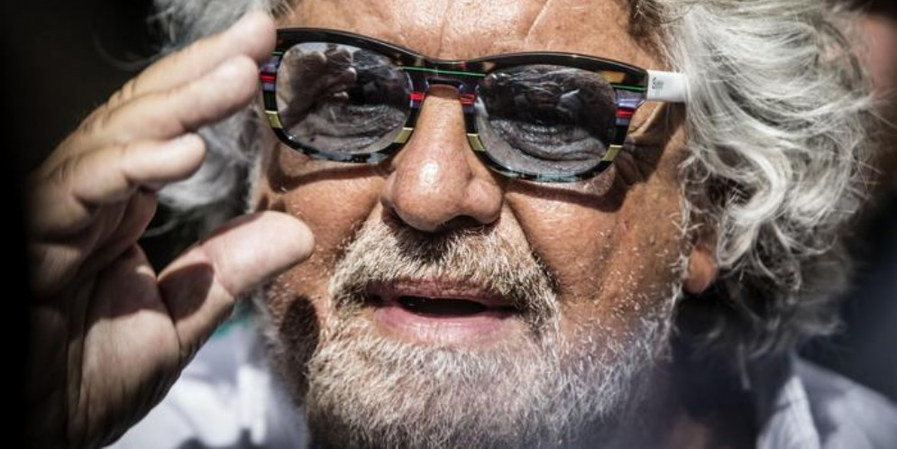 Beppe Grillo, leader storico del MoVimento 5 Stelle