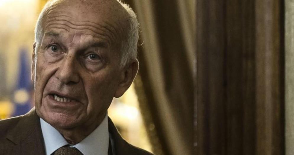 L'ex Segretario di Rifondazione Comunista, Fausto Bertinotti
