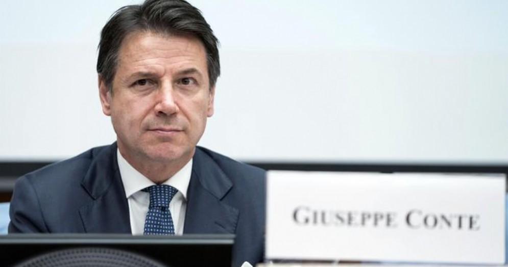 L'ex Presidente del Consiglio, Giuseppe Conte