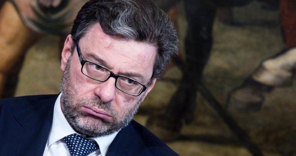 Il Ministro per lo Sviluppo Economico, Giancarlo Giorgetti
