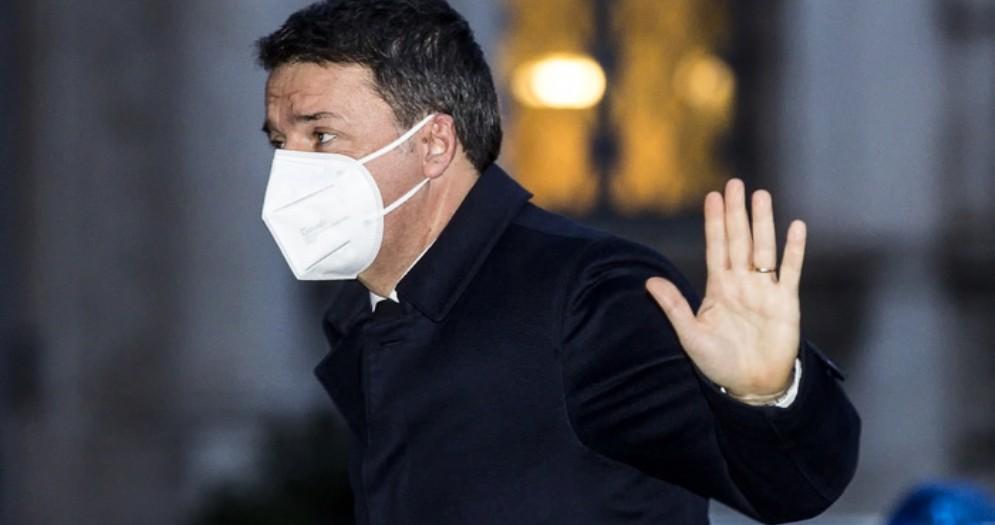 Il leader di Italia Viva, Matteo Renzi