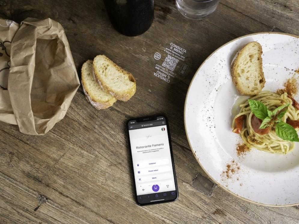 Famenu, il menù digitale gratis scelto da oltre 4.000 ristoranti