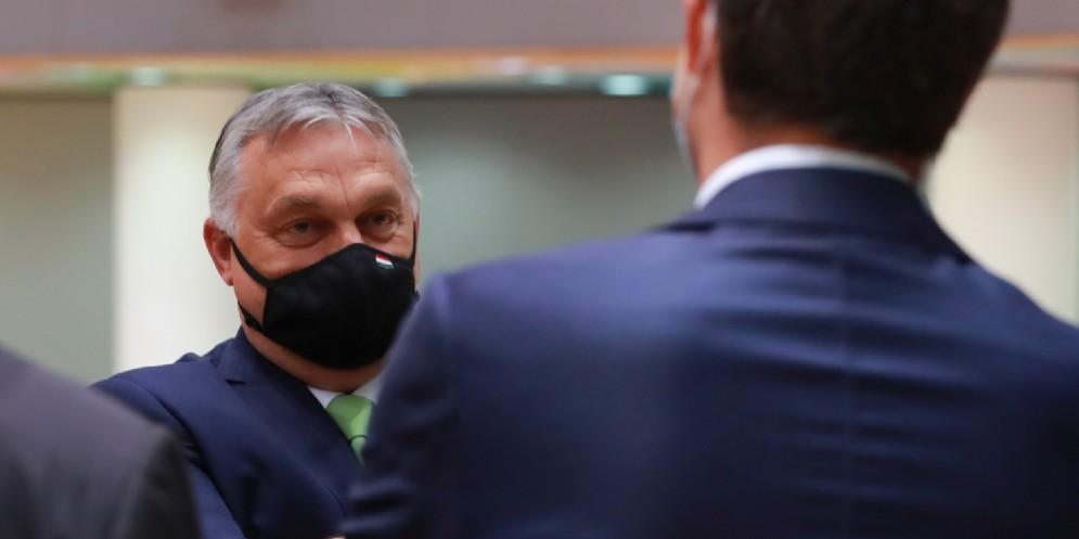 Il Primo Ministro unghere, Viktor Orban