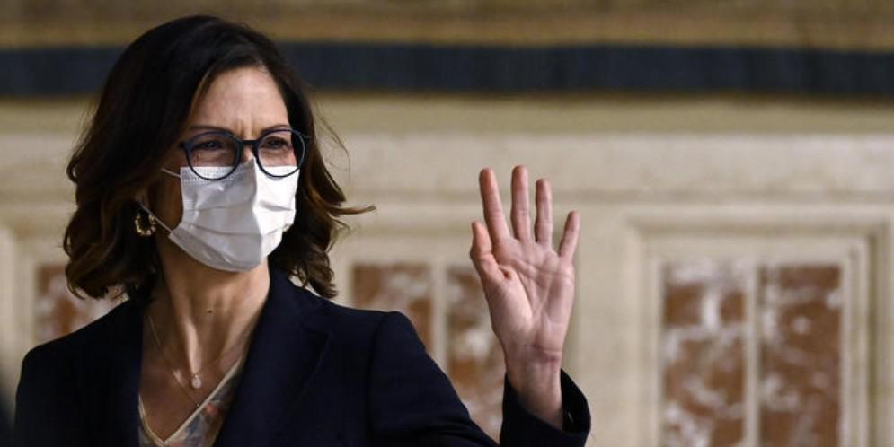 Il Ministro di Forza Italia, Mariastella Gelmini