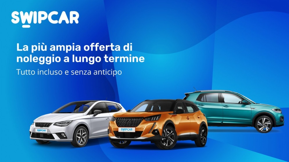 Swipcar, la più ampia offerta di noleggio a lungo termine