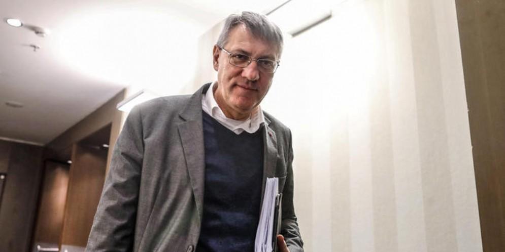Il Segretario della CGIL, Maurizio Landini