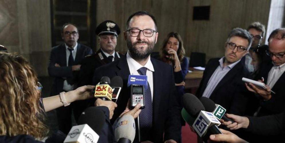Il Ministro dell'Agricoltura, Stefano Patuanelli