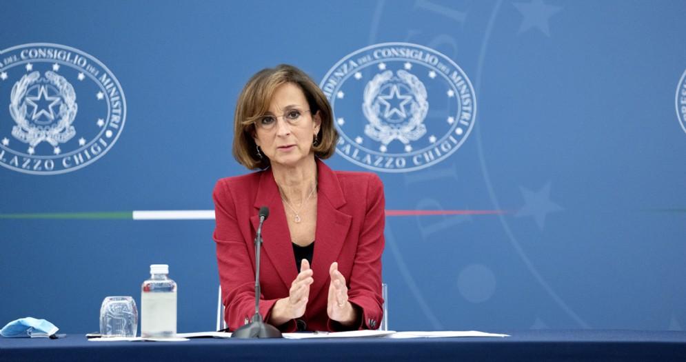 Il Ministro della Giustizia, Marta Cartabia