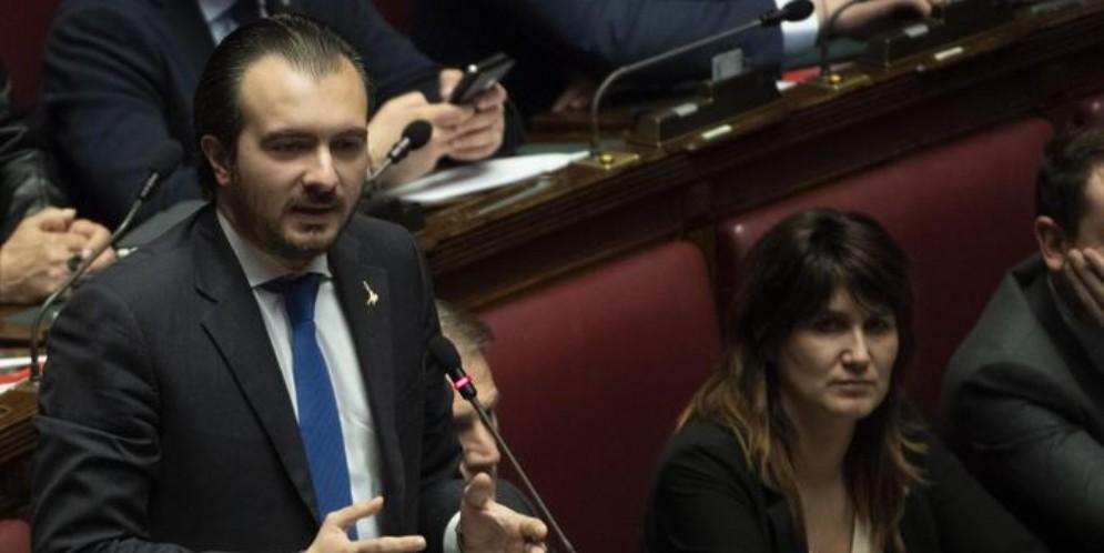 Il capogruppo alla Camera della Lega, Riccardo Molinari